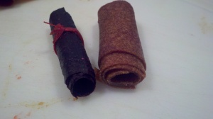 Traditional Fruit Leather Rolls