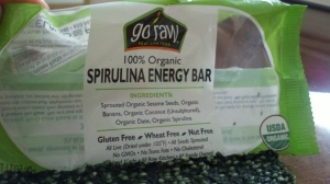 Go Raw Spirulina Energy Bar
