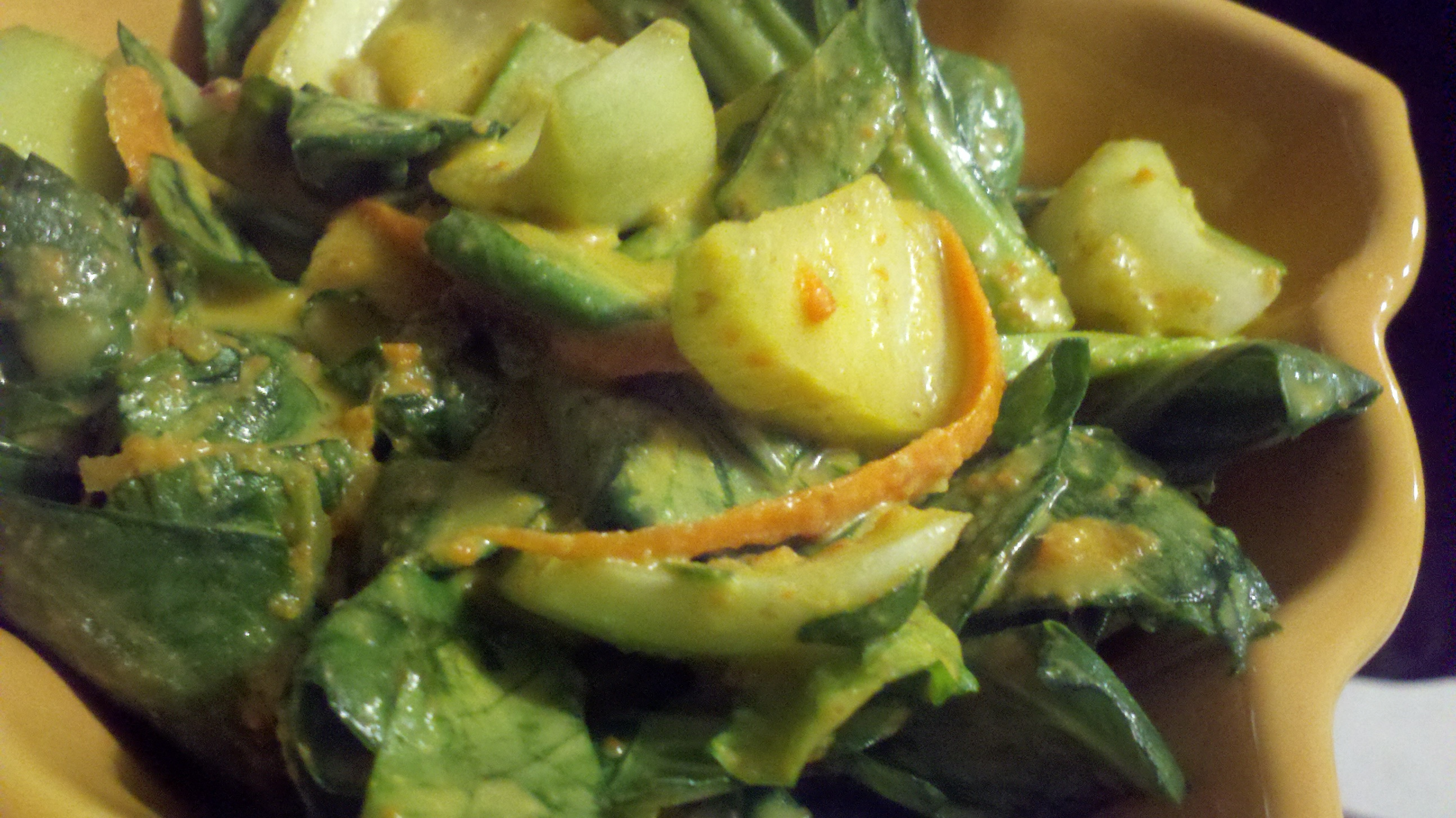 how to prepare baby bok choy for salad
