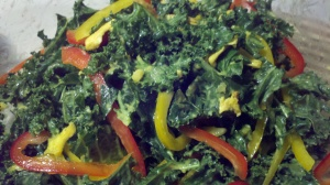 Tropical Kale Orange Asian Dressing